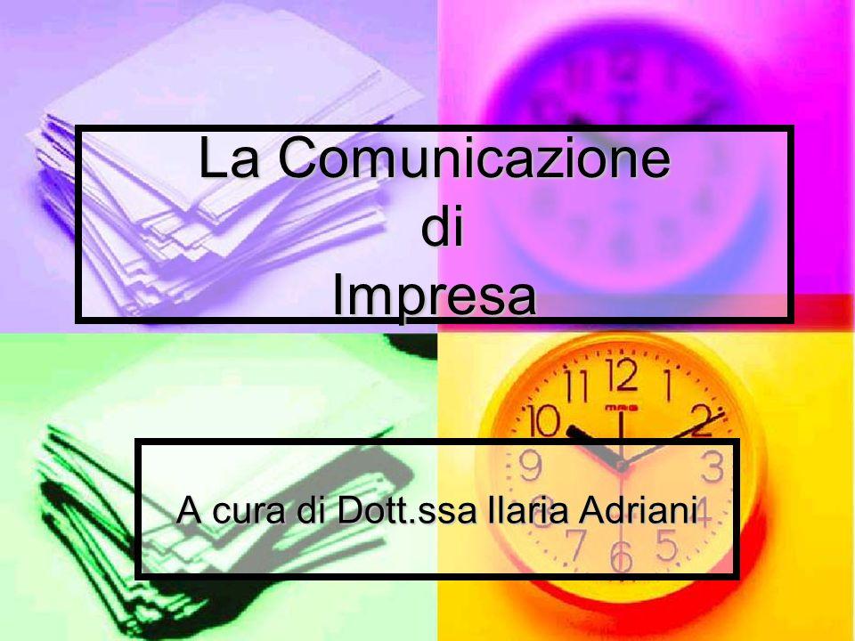La Comunicazione di Impresa