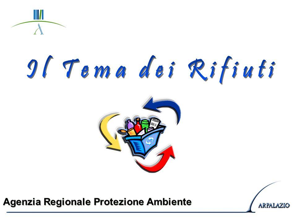 Il Tema dei Rifiuti Agenzia Regionale Protezione Ambiente