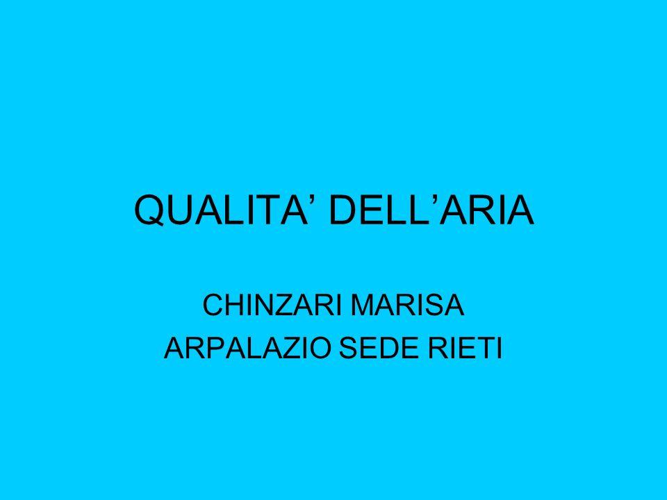 CHINZARI MARISA ARPALAZIO SEDE RIETI