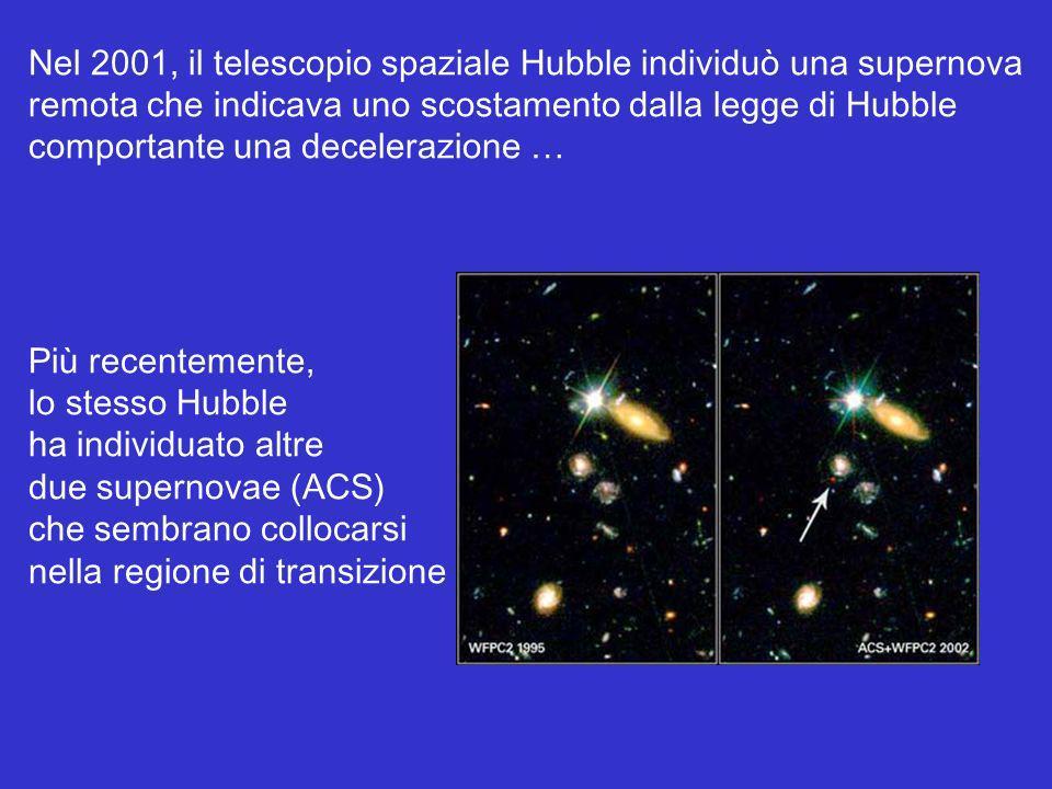 Nel 2001, il telescopio spaziale Hubble individuò una supernova