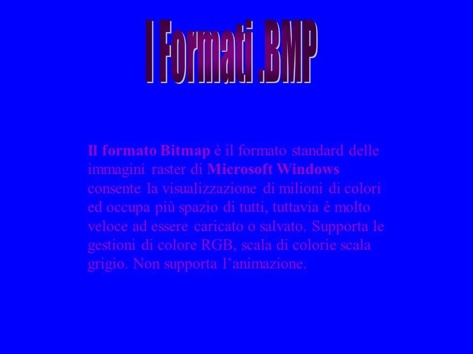 I Formati .BMP