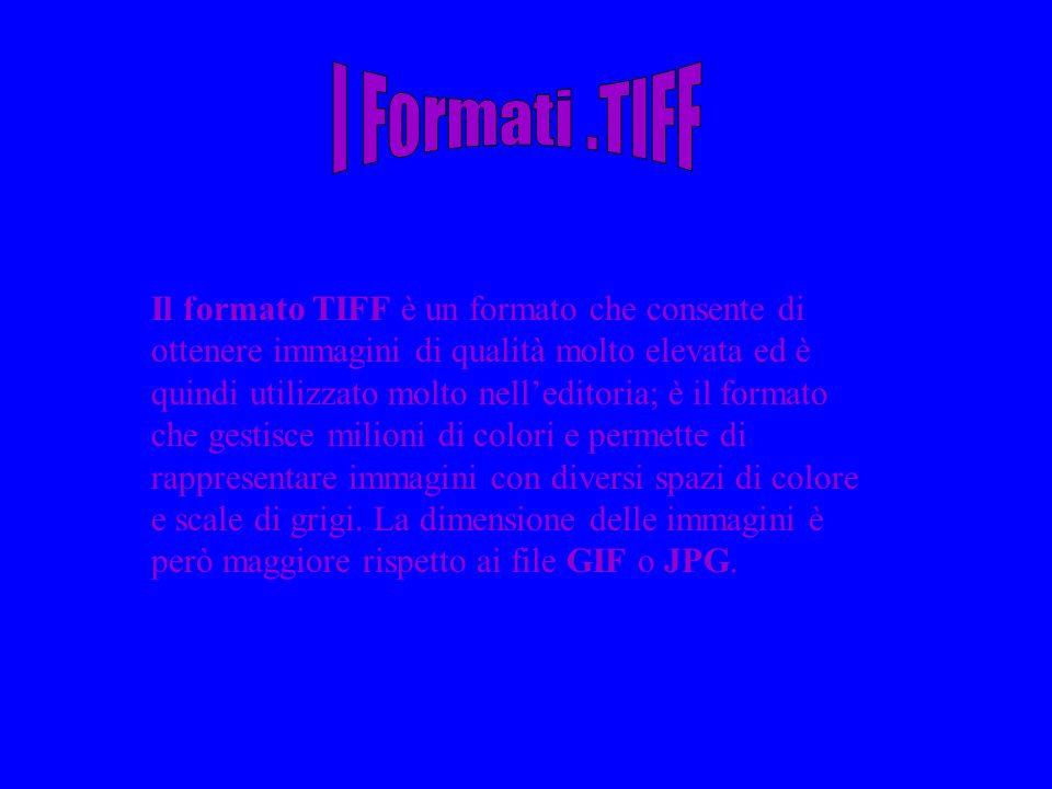 I Formati .TIFF