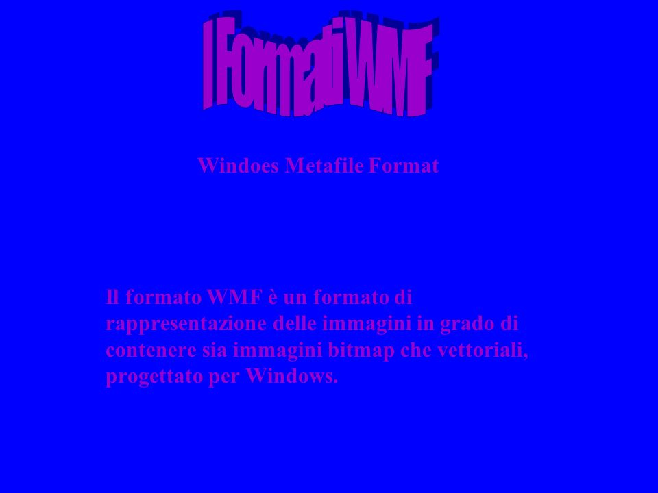 Windoes Metafile Format