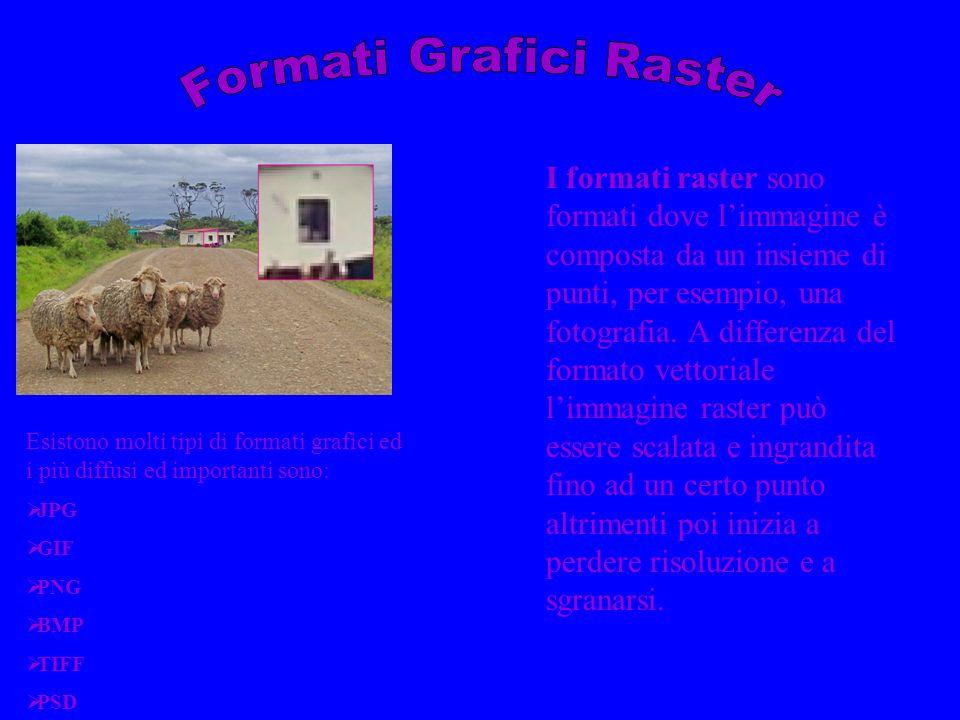 Formati Grafici Raster