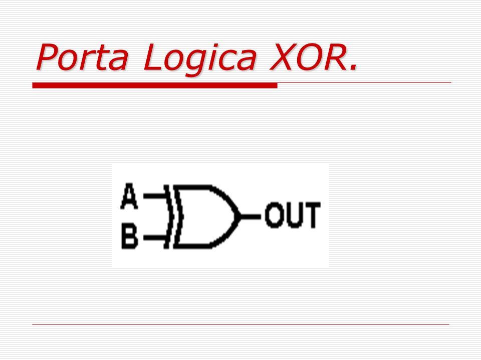 Porta Logica XOR.
