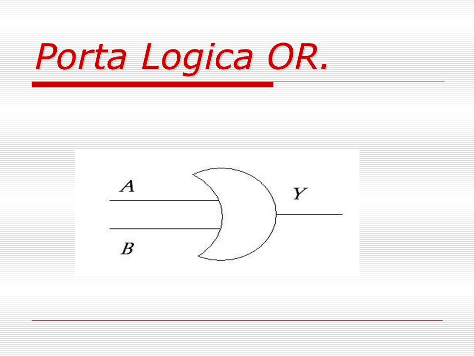 Porta Logica OR.