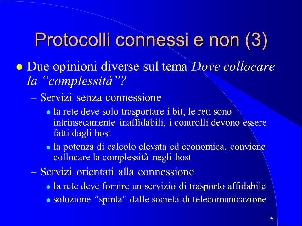 Protocolli connessi e non (3)