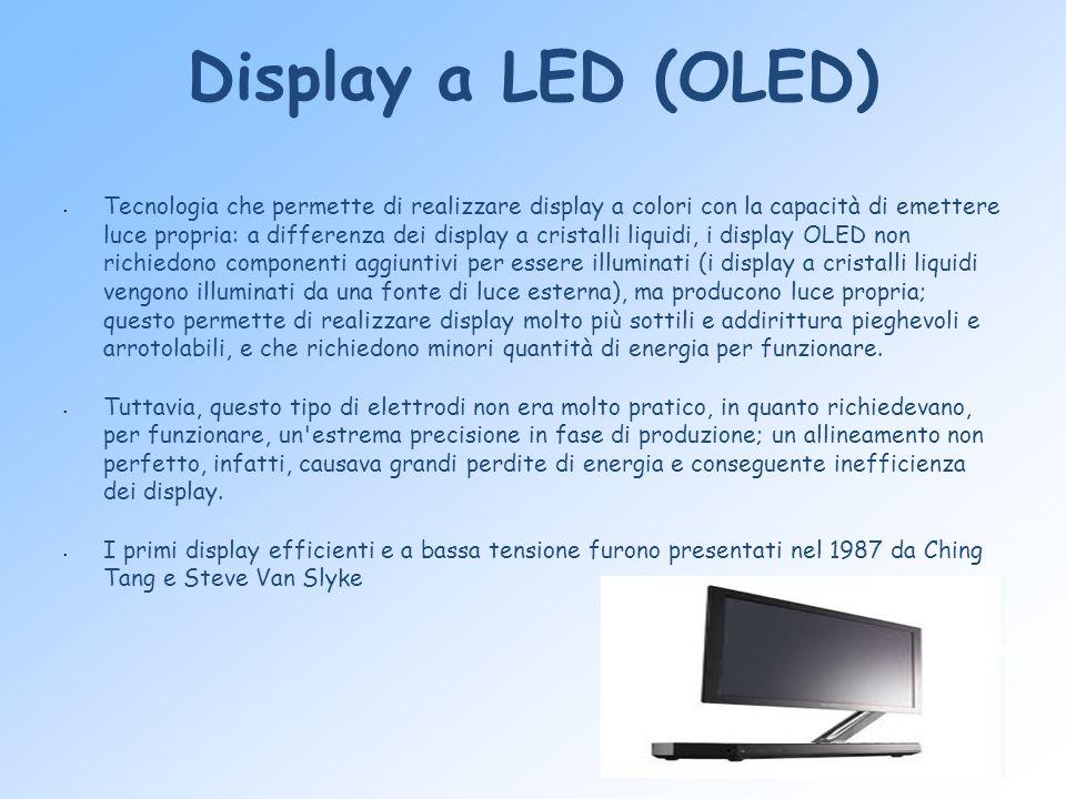 Display a LED (OLED)