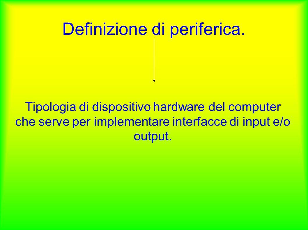 Definizione di periferica.
