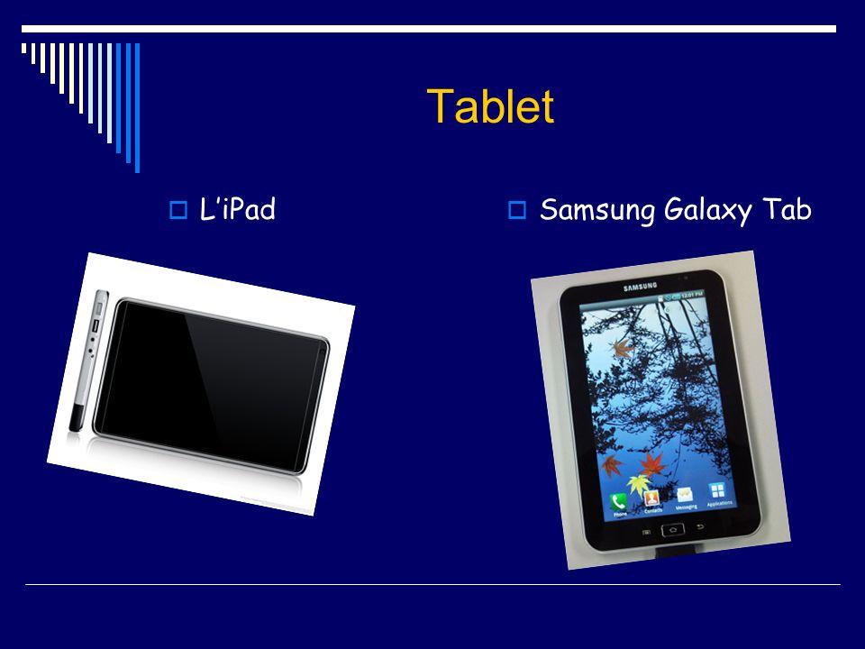Tablet L'iPad Samsung Galaxy Tab