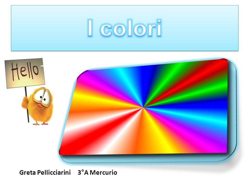 I colori Greta Pellicciarini 3°A Mercurio