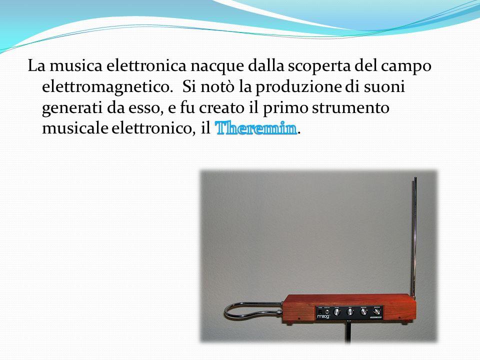 La musica elettronica nacque dalla scoperta del campo elettromagnetico