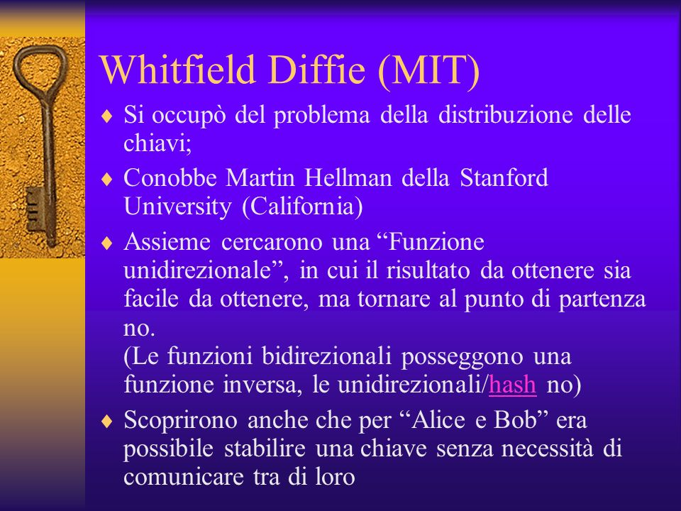 Whitfield Diffie (MIT)