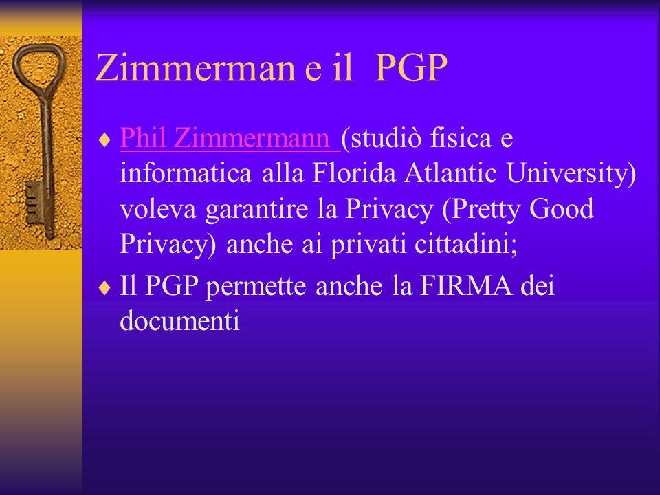 Zimmerman e il PGP