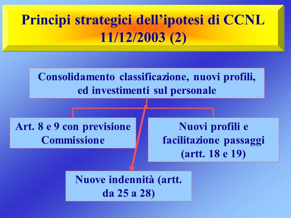 Principi strategici dell'ipotesi di CCNL 11/12/2003 (2)