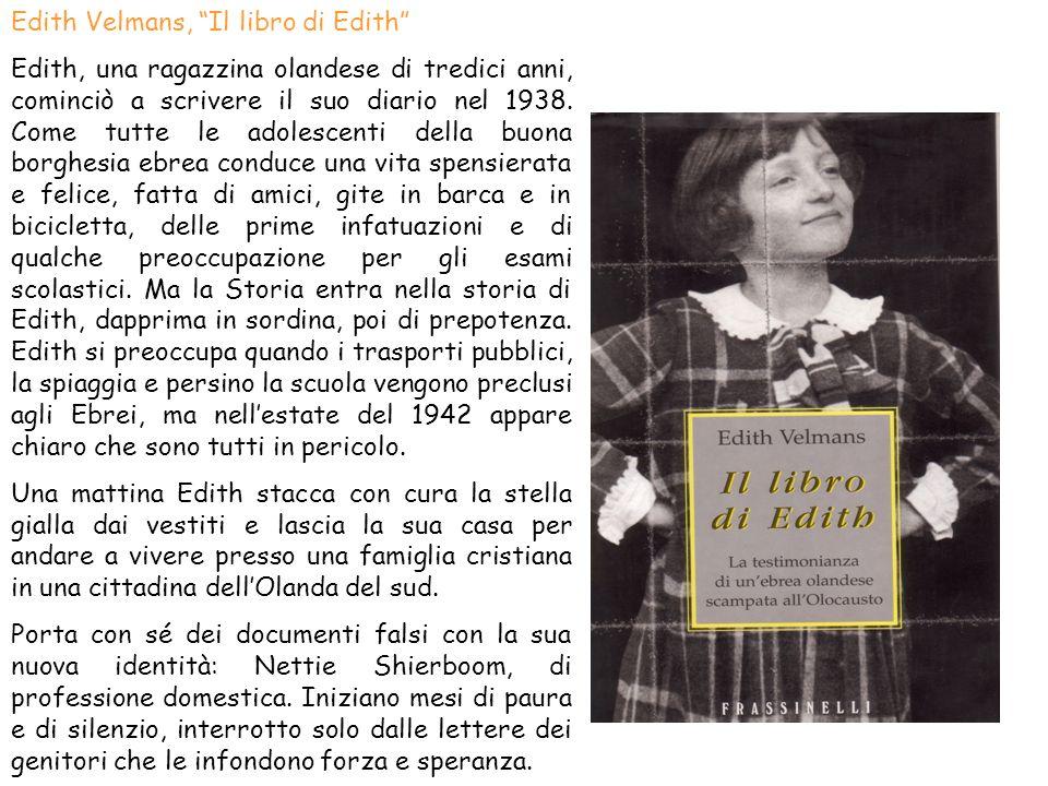 Edith Velmans, Il libro di Edith