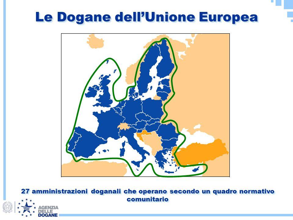 Le Dogane dell'Unione Europea