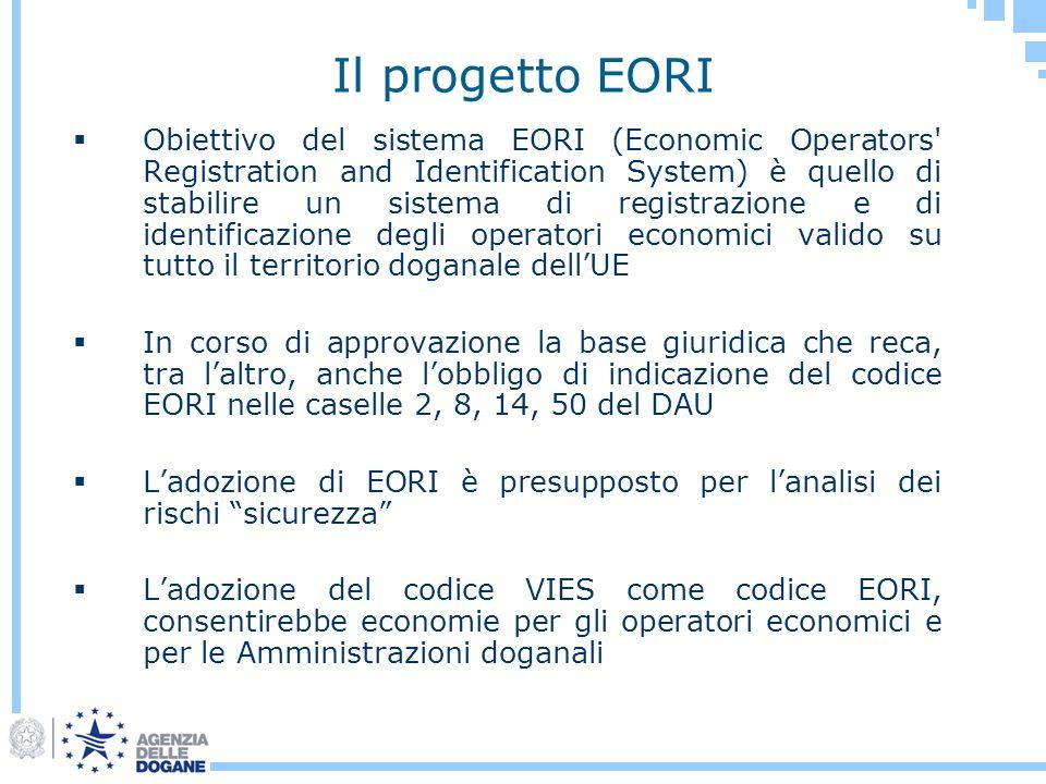 Il progetto EORI