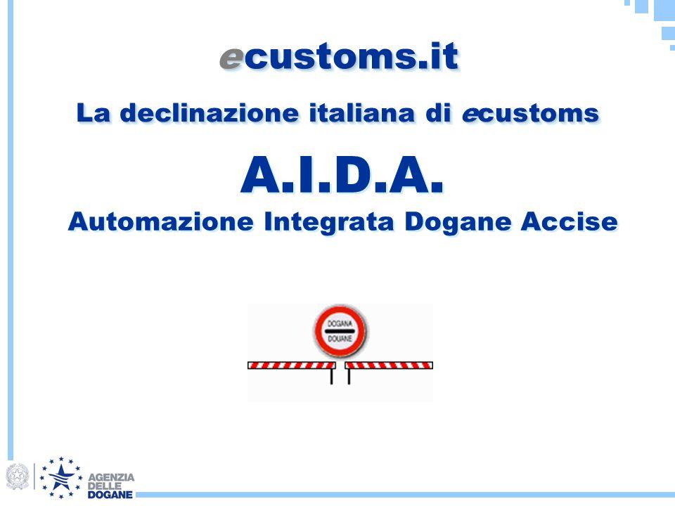 A.I.D.A. Automazione Integrata Dogane Accise