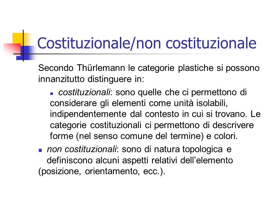 Costituzionale/non costituzionale