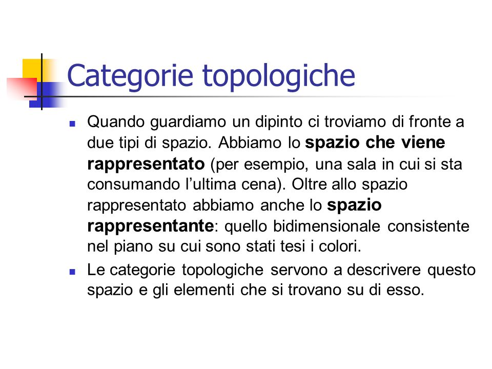 Categorie topologiche