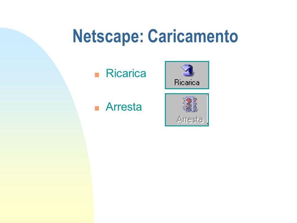 Netscape: Caricamento