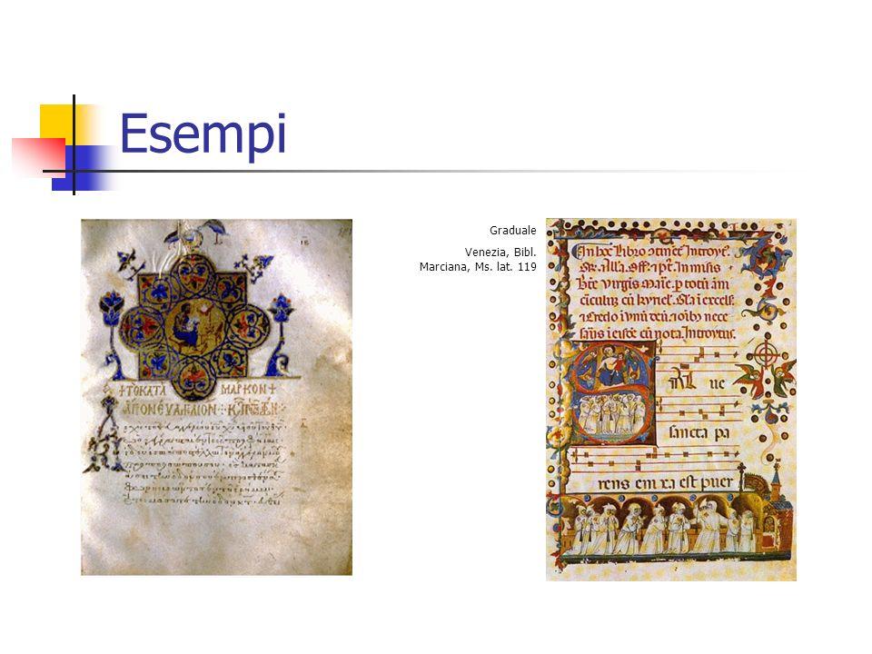 Esempi Graduale Venezia, Bibl. Marciana, Ms. lat. 119