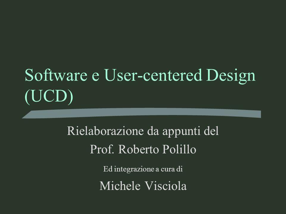 Software e User-centered Design (UCD)