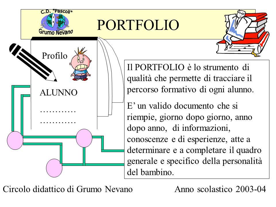 PORTFOLIO Grumo Nevano. C.D. Pascoli Profilo.