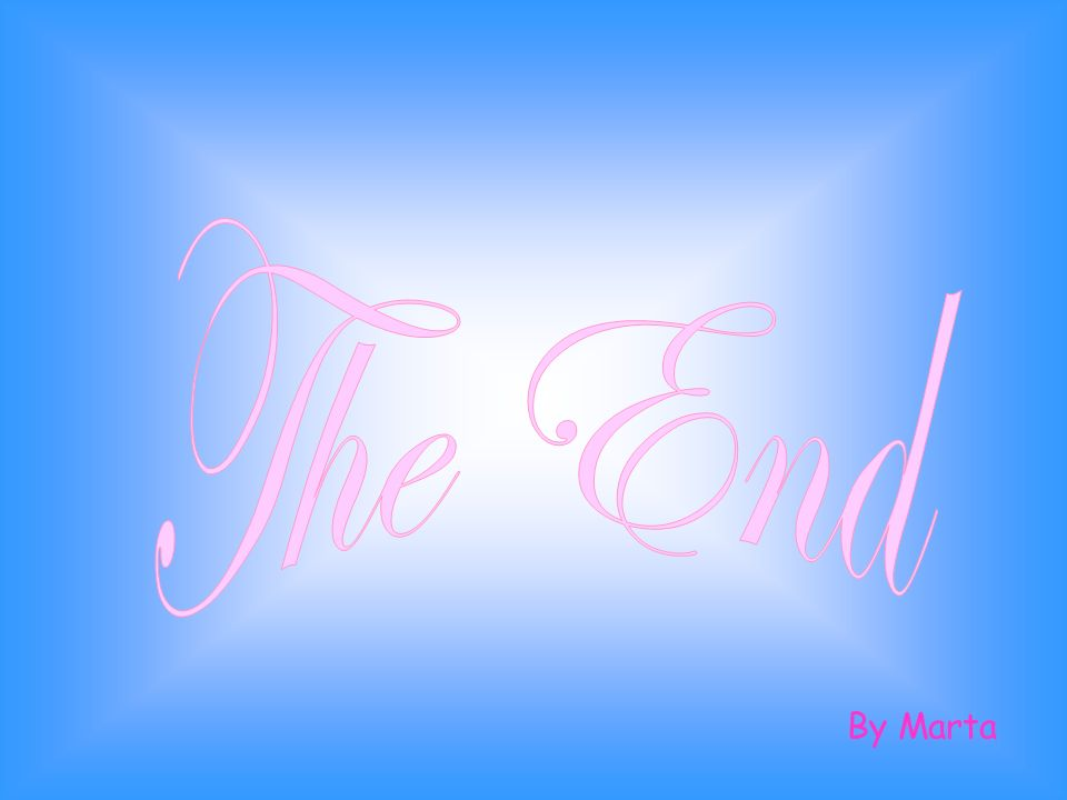 The End By Marta