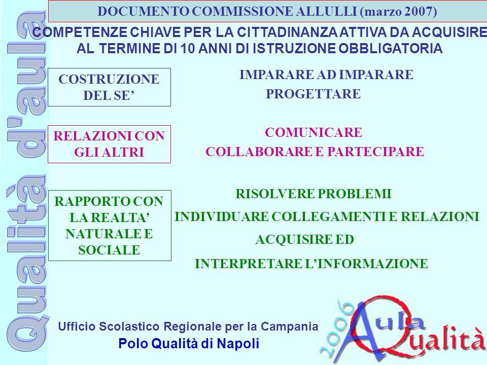 DOCUMENTO COMMISSIONE ALLULLI (marzo 2007)