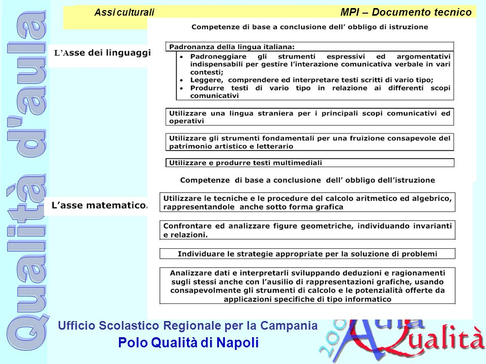 MPI – Documento tecnico