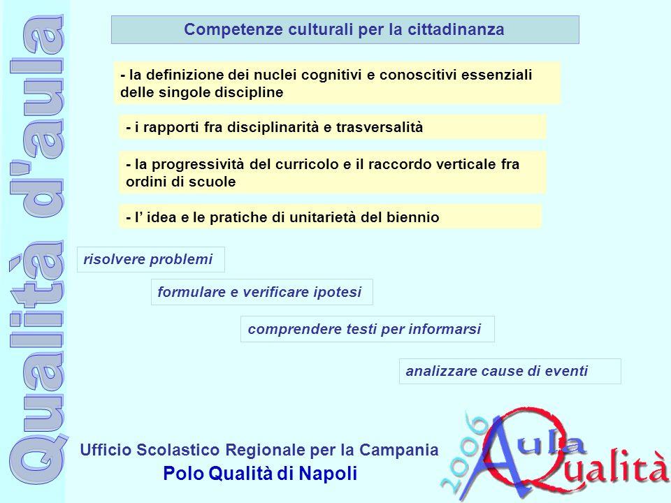 Competenze culturali per la cittadinanza