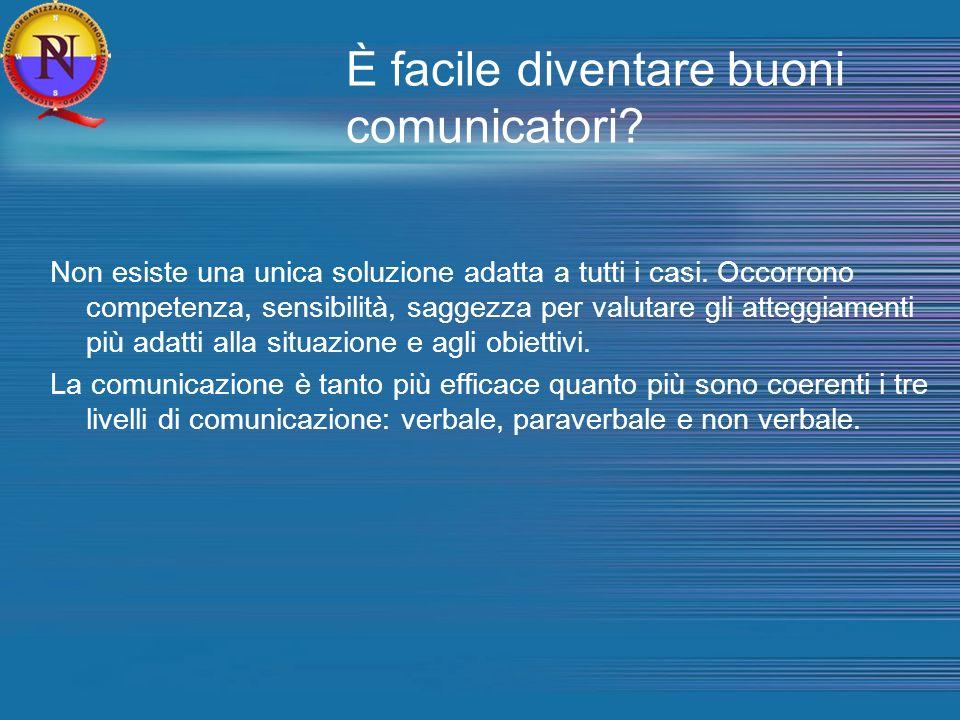È facile diventare buoni comunicatori
