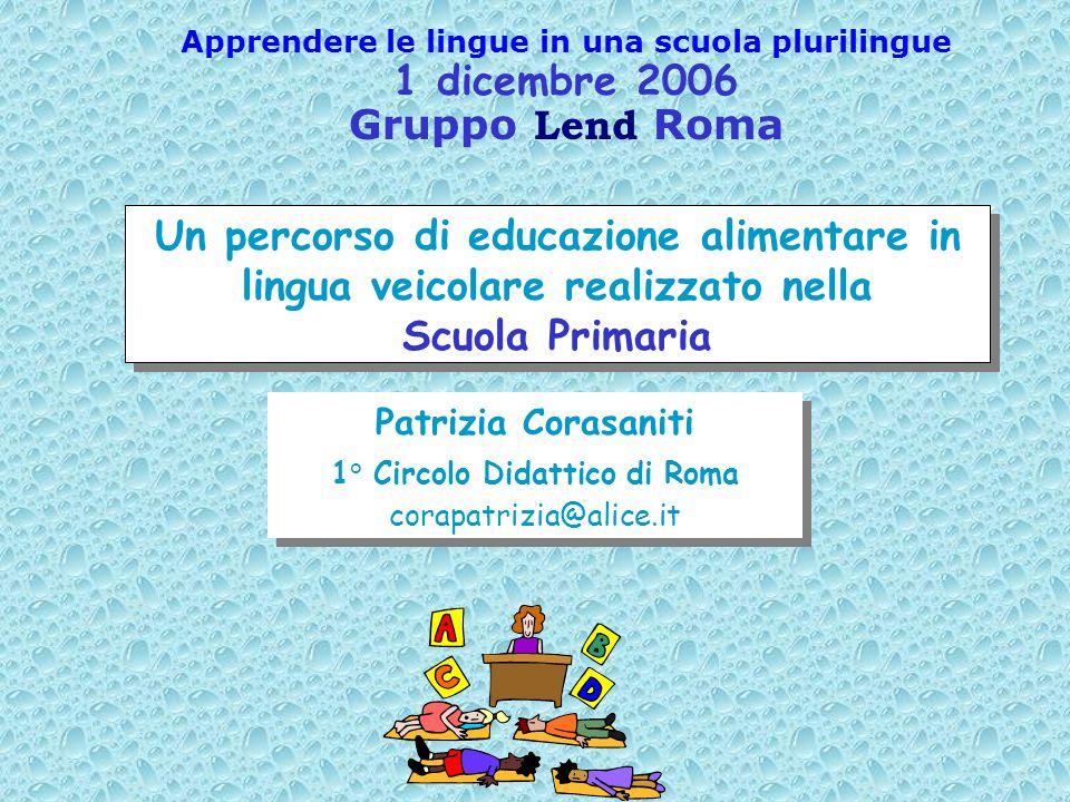 1 dicembre 2006 Gruppo Lend Roma