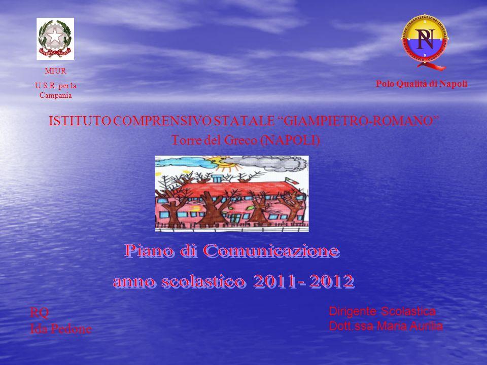 Piano di Comunicazione anno scolastico 2011- 2012