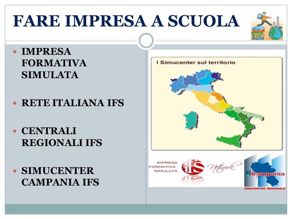 FARE IMPRESA A SCUOLA IMPRESA FORMATIVA SIMULATA RETE ITALIANA IFS