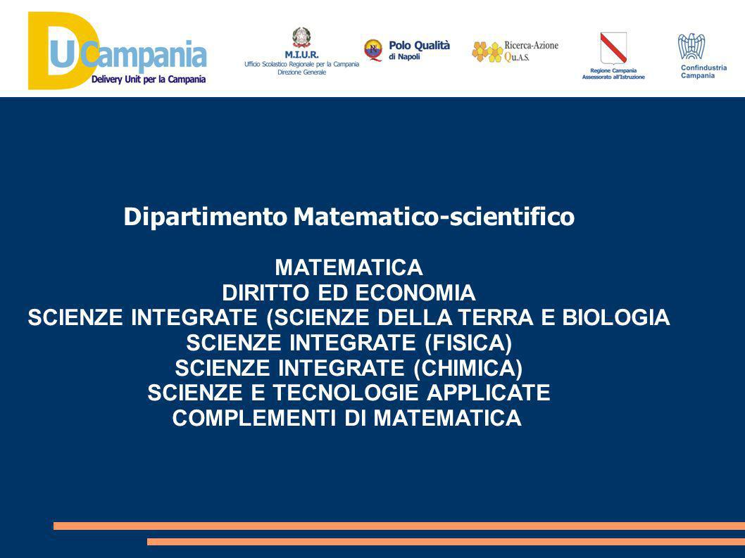 Dipartimento Matematico-scientifico
