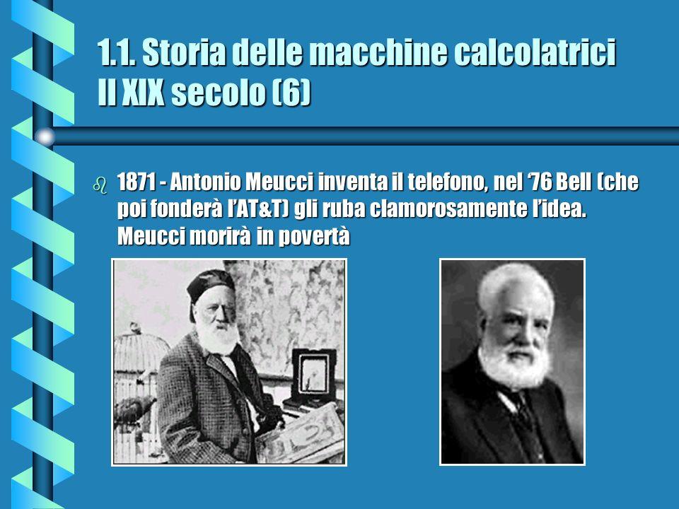 1.1. Storia delle macchine calcolatrici Il XIX secolo (6)