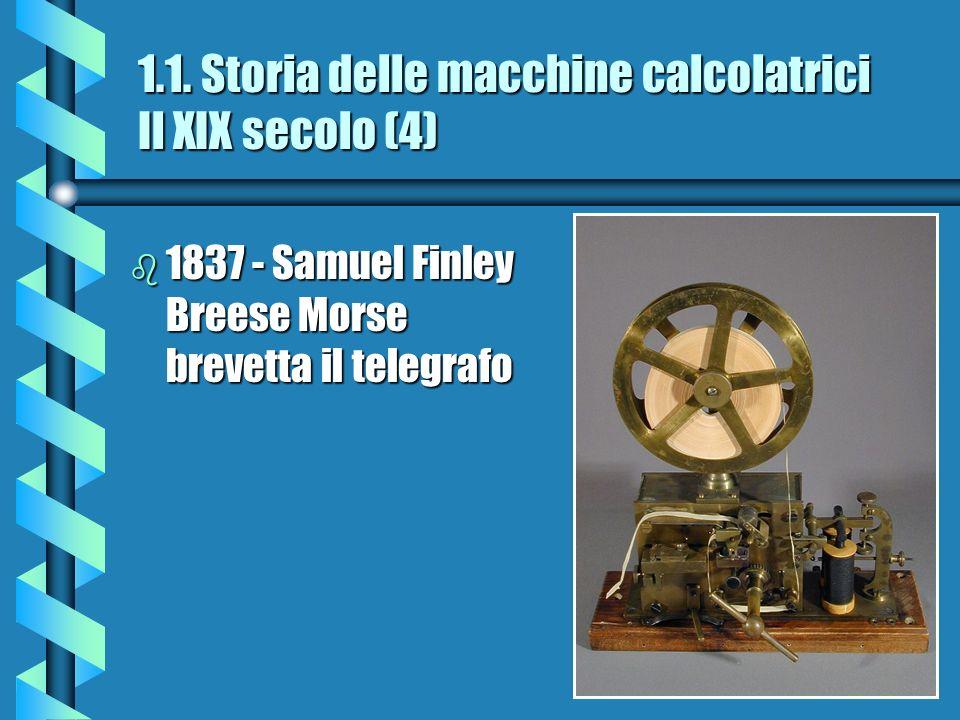1.1. Storia delle macchine calcolatrici Il XIX secolo (4)