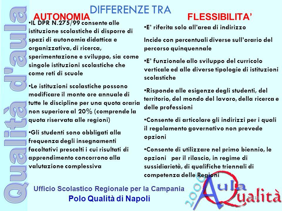 AUTONOMIA FLESSIBILITA'