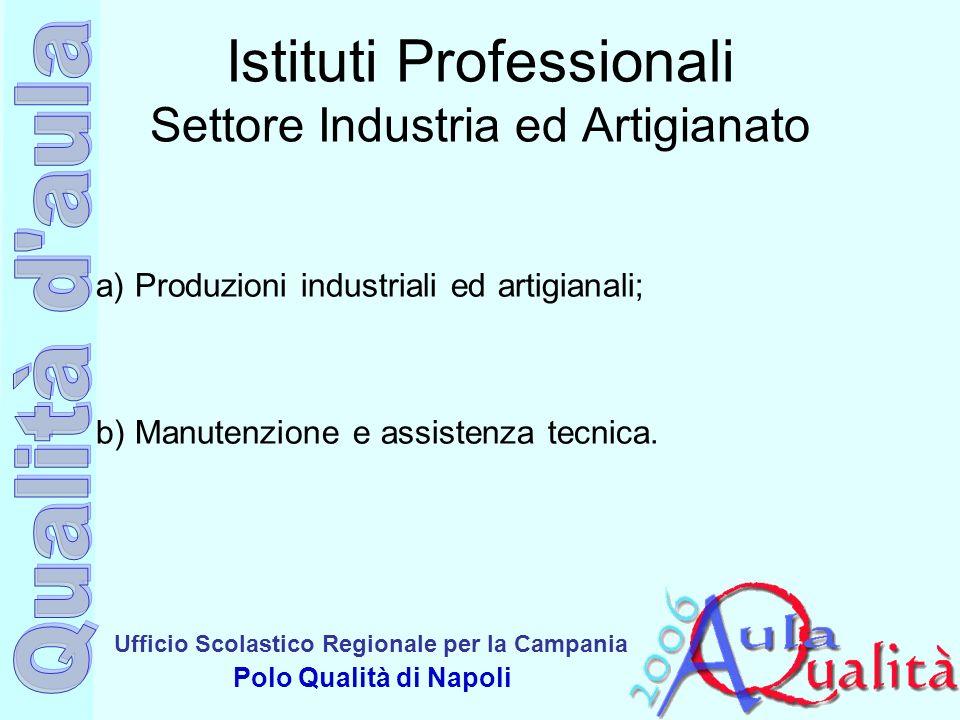 Istituti Professionali Settore Industria ed Artigianato