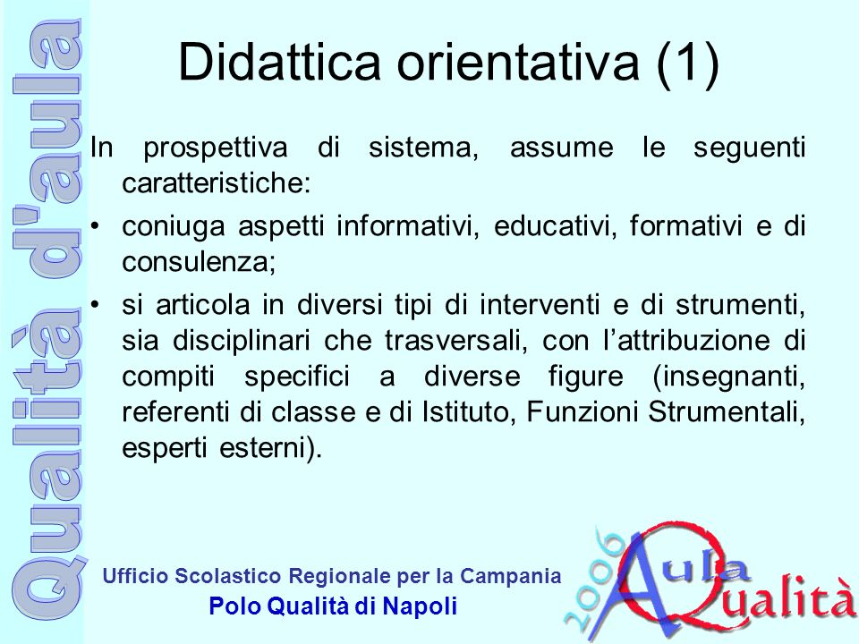 Didattica orientativa (1)