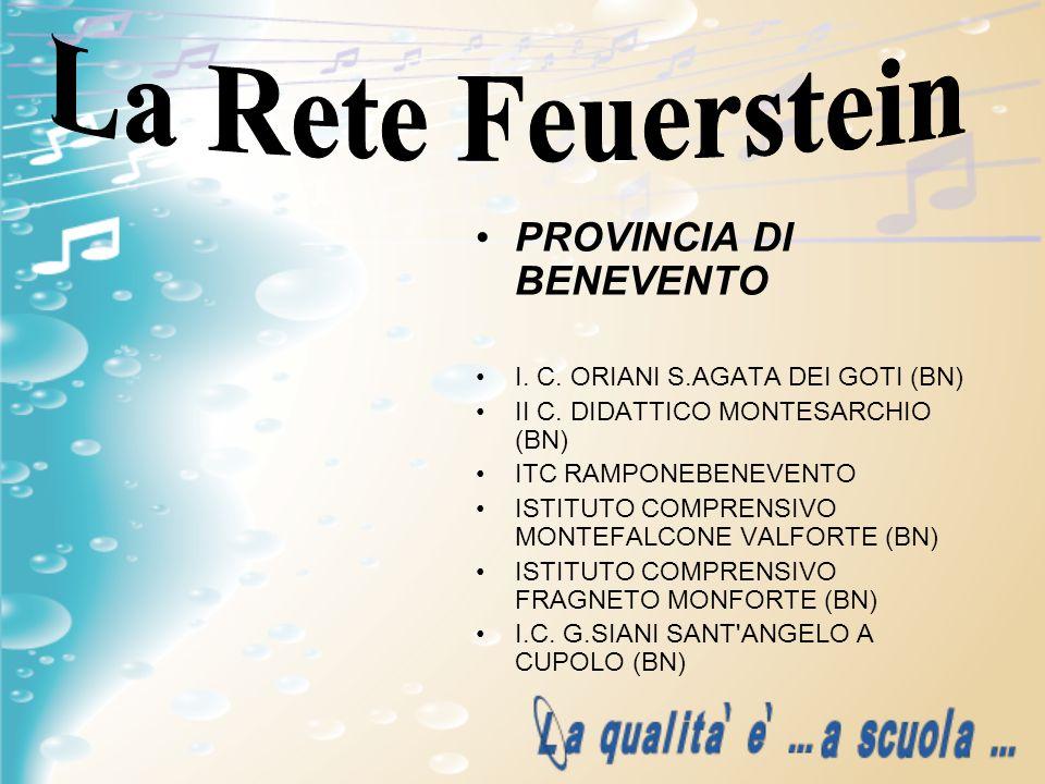 La Rete Feuerstein PROVINCIA DI BENEVENTO