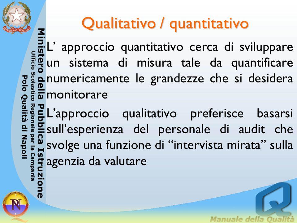 Qualitativo / quantitativo