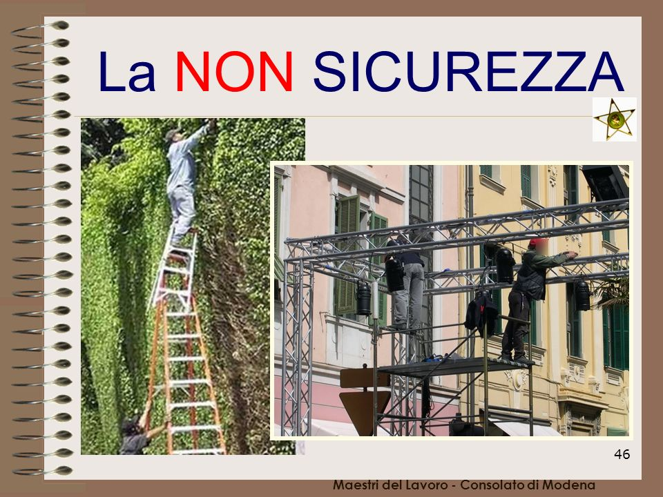 Maestri del Lavoro - Consolato di Modena