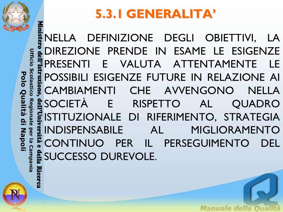 5.3.1 GENERALITA'