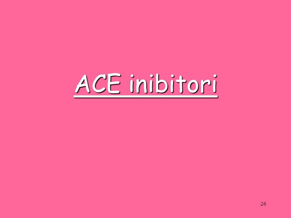 ACE inibitori