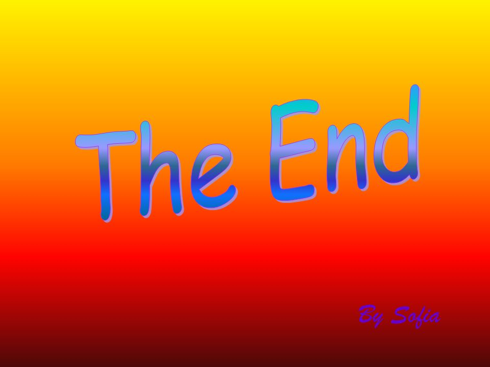 The End By Sofia