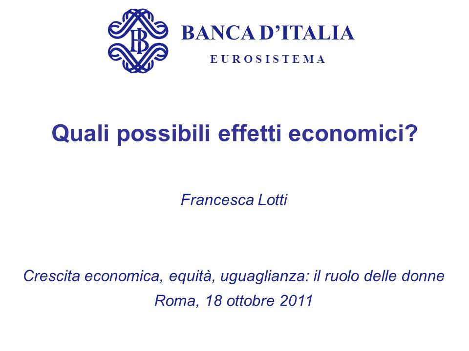 Quali possibili effetti economici